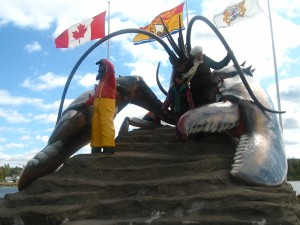 Big lobster, Shediac