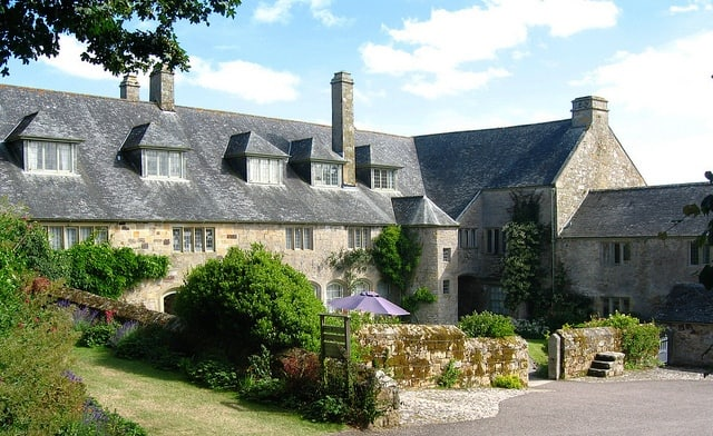 Trerice Manor House, Cornwall - seen from the back