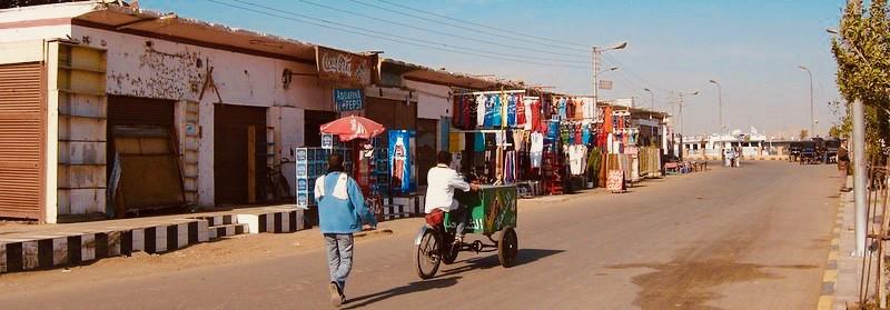 Streets of Edfu, Egypt