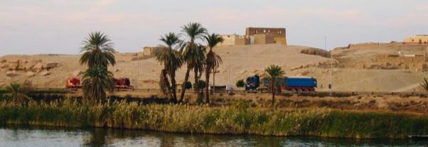 Along the Nile - Egypt