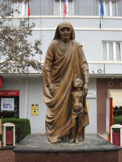 Mother Teresa statue, Pristina, Kosovo