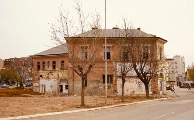 House in Pristina, Kosovo, April 2008