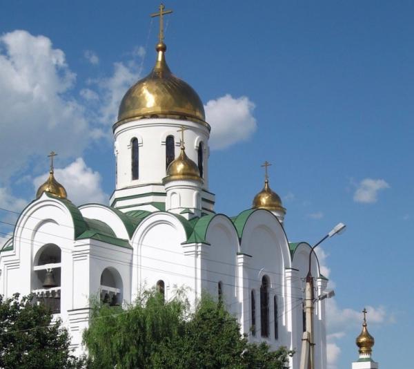 The Russian Orthodox Pokrovskaya church, Tiraspol, Transnistria