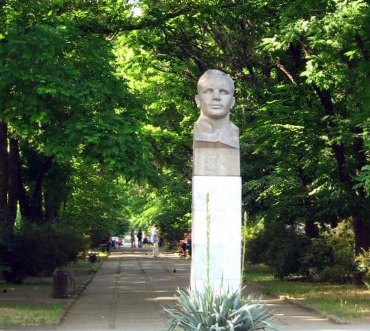 Yuri Gagarin statue, Tiraspol, Transn istria