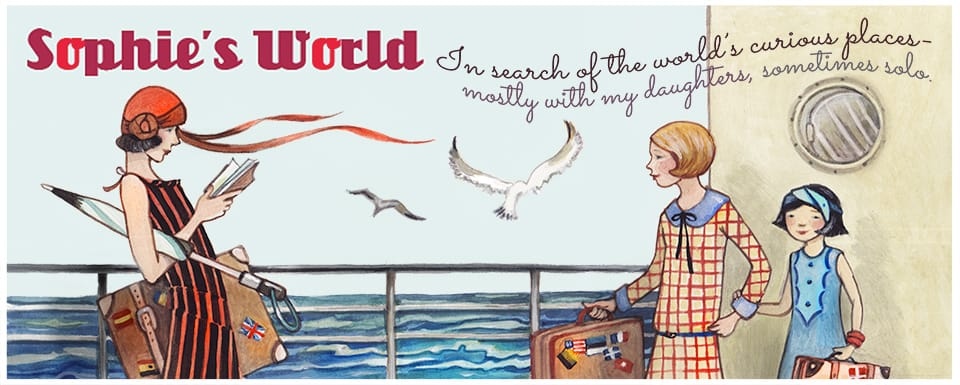 Sophie's World Travel Inspiration Logo