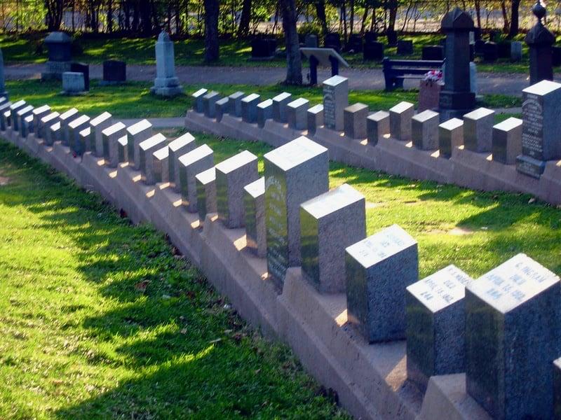 Titanic graves, Halifax, Nova Scotia
