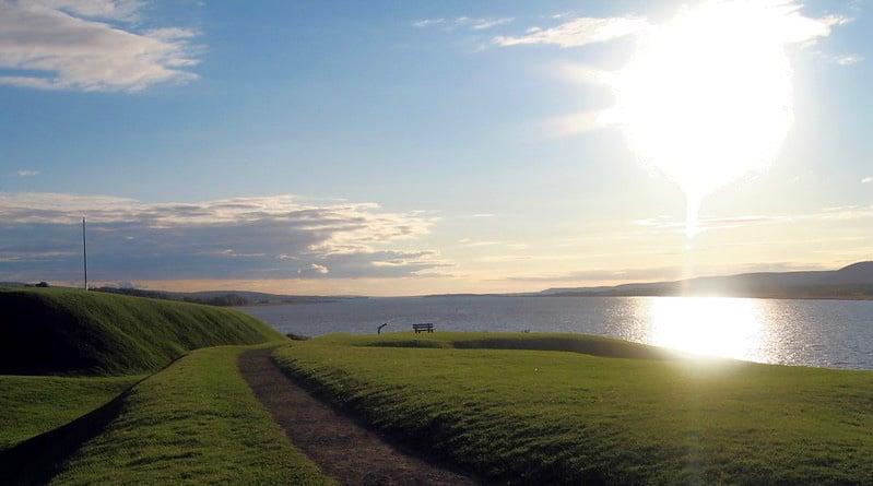 Annapolis Royal landscape, Nova Scotia