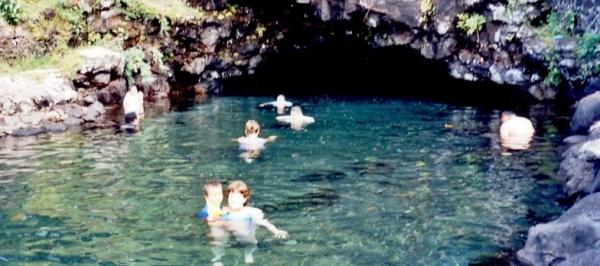 Piula pools, Samoa