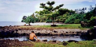 Piula natural pool, Samoa