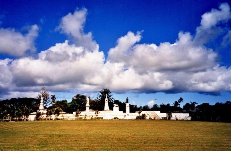 Royal tombs, Nukualofa, Tonga