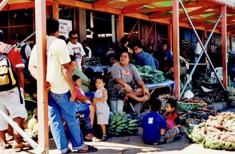 The market, Nukualofa, Tonga