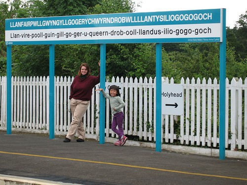 The railway station at Llanfair PG in Wales has the longest place name in Britain