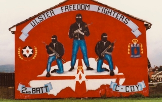 uff fighters, Belfast mural