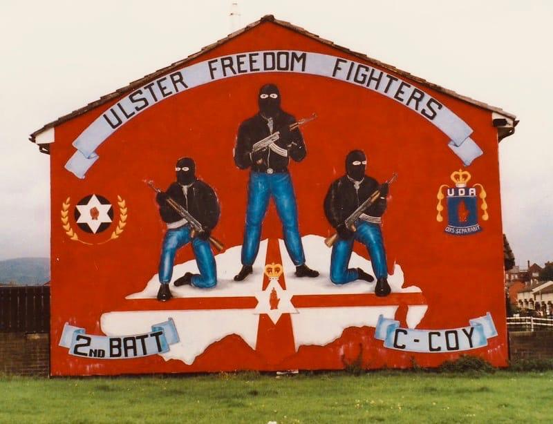 uff fighters, Belfast mural