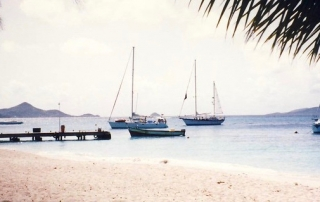 Grenadines, Union Island harbour