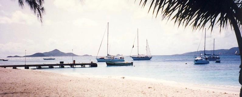 Grenadines, Union Island harbour