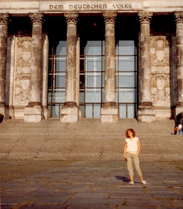 Berlin, Reichstag, 1983