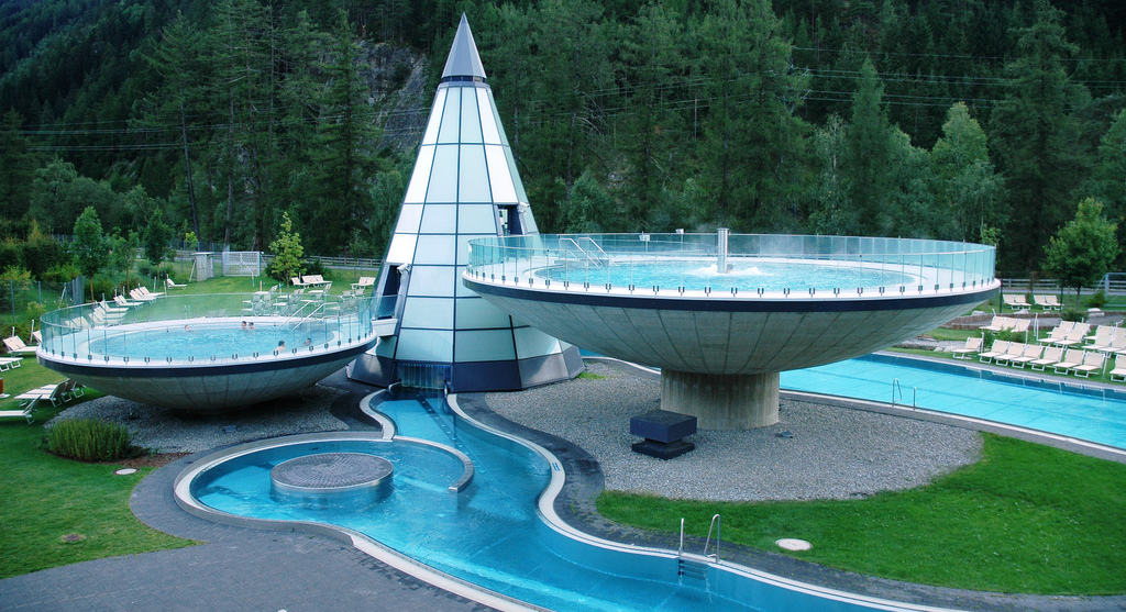 Aquadome Spa, Austria