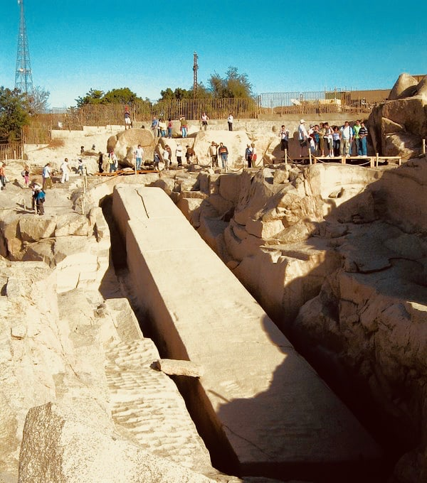 Aswan, Egypt, unfinished obelisk