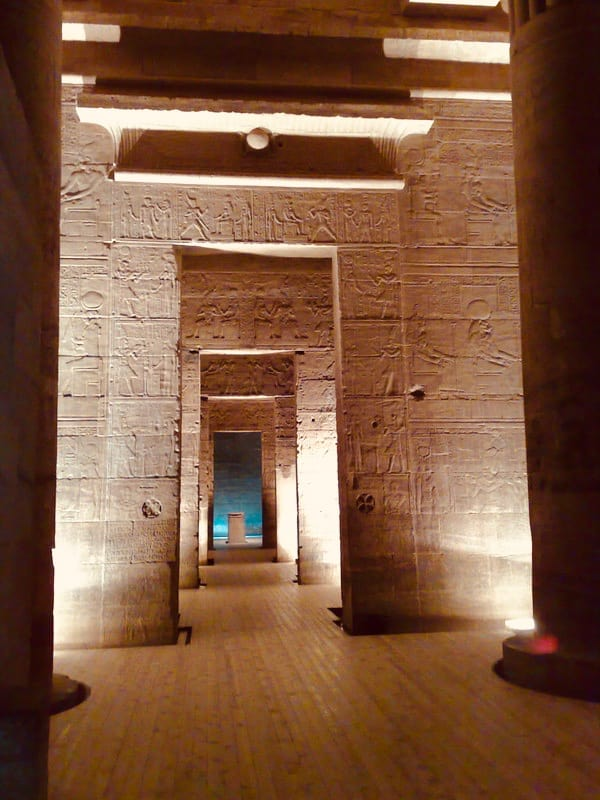 Temple, Philae, Nile, Egypt, Island of Agilka