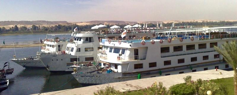Aswan, Egypt, Nile boats
