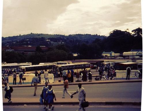 Street scene: Manzini, Eswatini