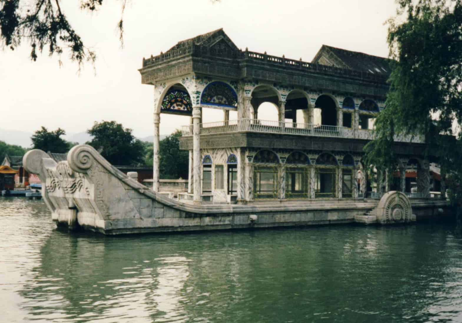 Marble Boat at the Imperial Summer Palace, Beijing