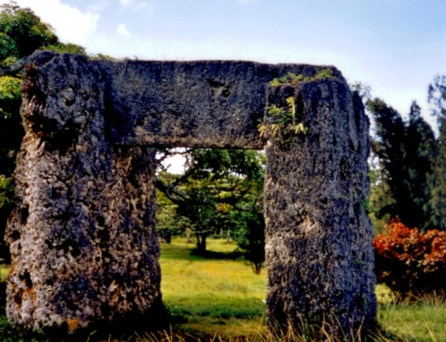 World at a Glance: The Stonehenge of Tonga (Day out Nukualofa)