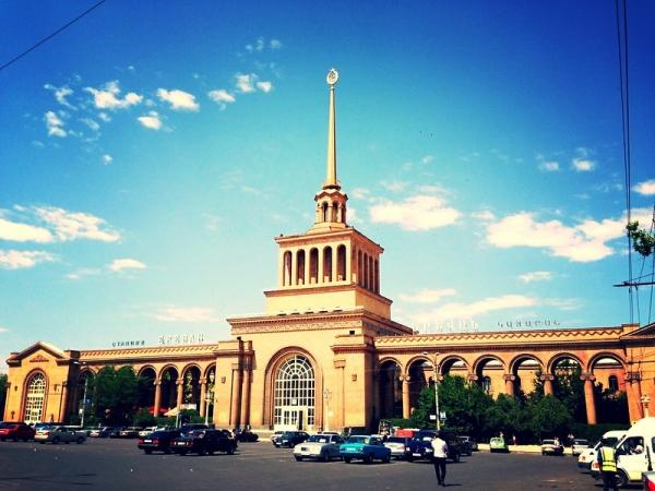 Railway station, Yerevan