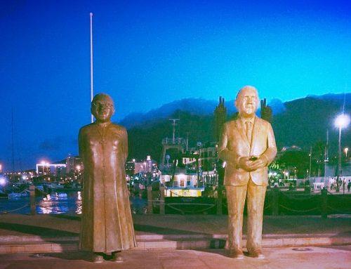 Verden på et øyeblikk: Nobelplassen i Cape Town
