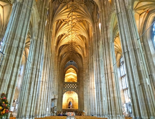 Canterbury Cathedral and the badass bishop