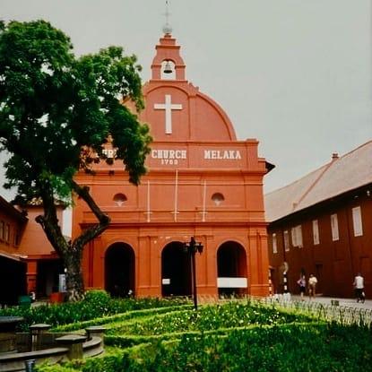 Christ Church, Melaka, Malaysia