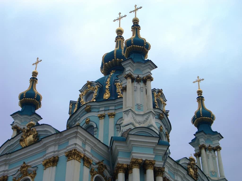 St Andrew's Church, Kiev, Ukraine
