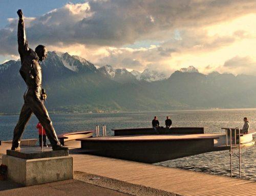 Verden på et øyeblikk: Freddie Mercury i Montreux
