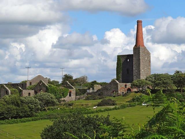 Cornwall mining landscape