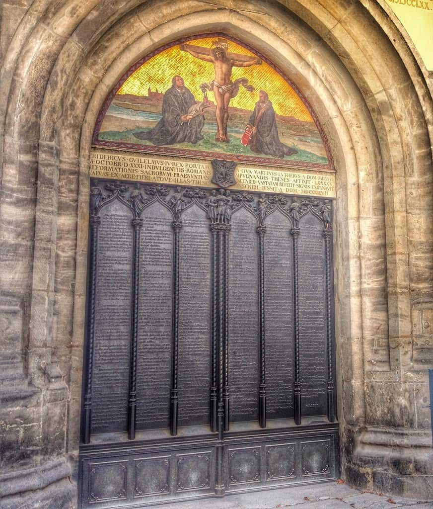 Martin Luther S 95 Theses Sophie S World Travel Inspiration