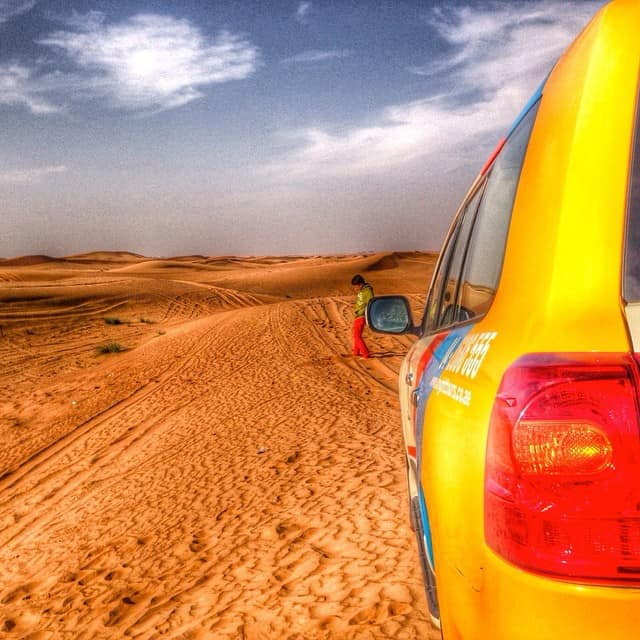 Desert safari, UAE