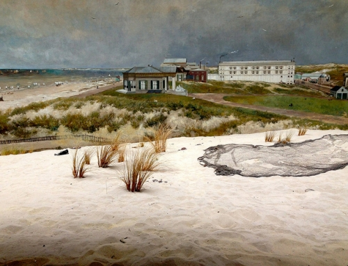 World at a Glance: The Mesdag Panorama  – walking into the painting