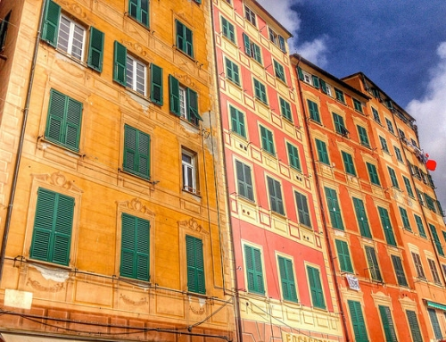 Camogli, an Italian secret