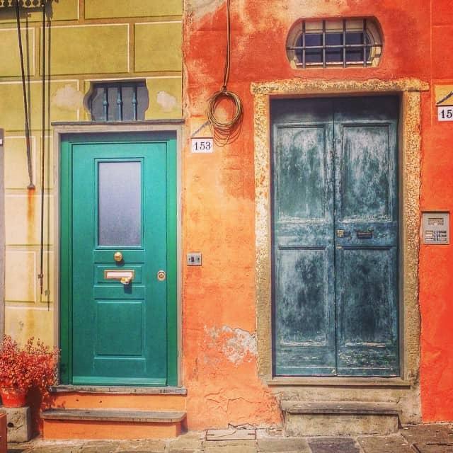Camogli doors