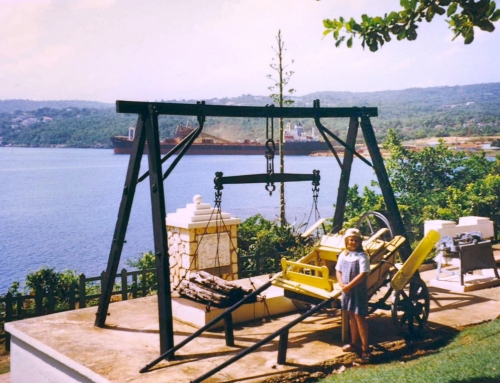 Silent Retro Sunday: Christopher Columbus Park, Discovery Bay in Jamaica, 1996