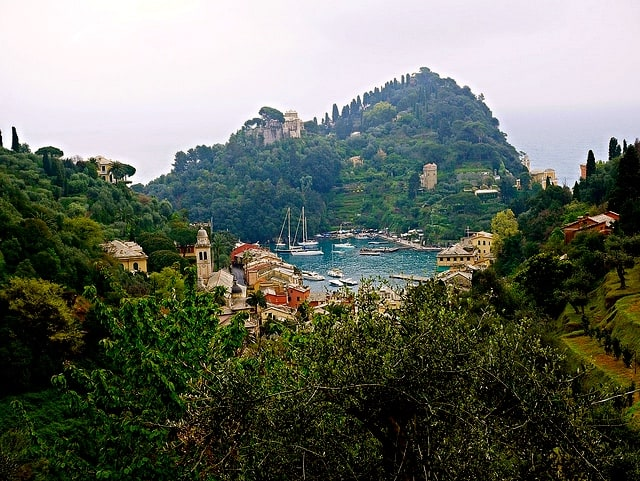 I met my love in portofino