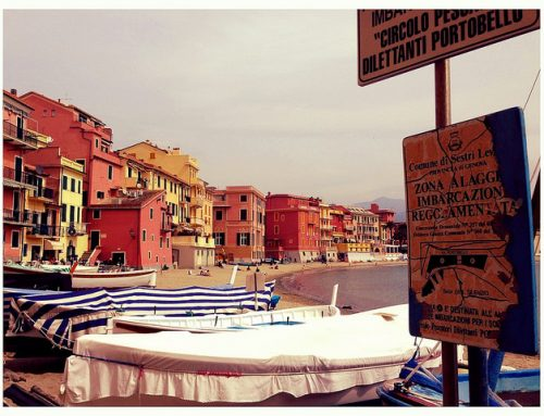 Sailing and cooking in Sestri Levante