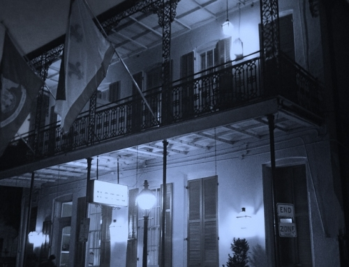 Chasing ghosts in New Orleans