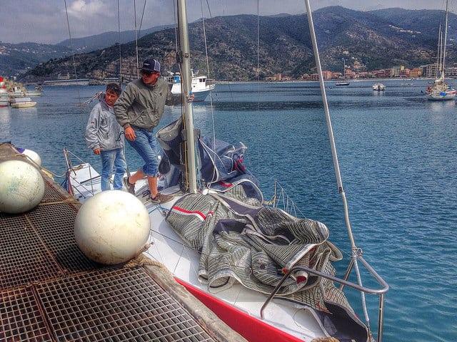 Sailing, Sestri Levante