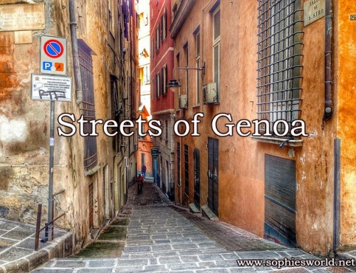 The streets of Genoa