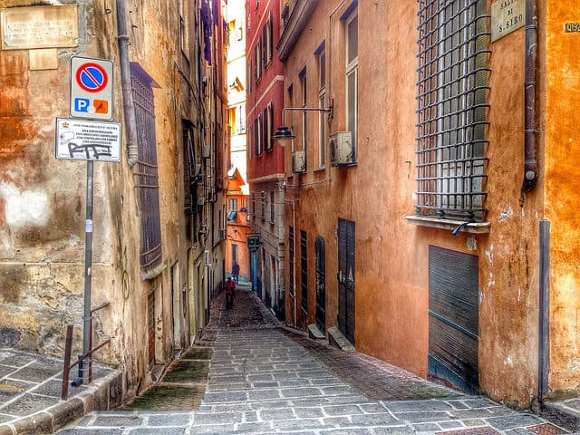 Streets of Genoa