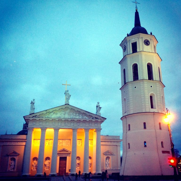 Vilnius by Instagram: the Cathedral