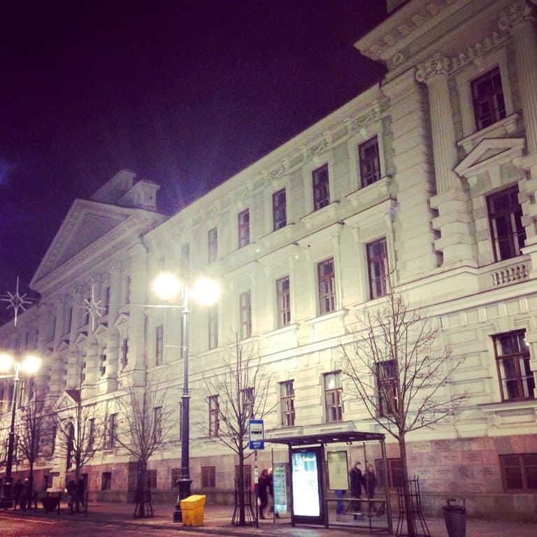 former KGB headquarters, Vilnius