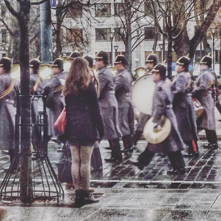 military parade vilnius